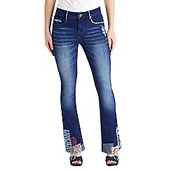 Joe Browns - Blue perfect patchwork jeans