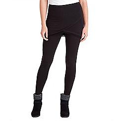 Joe Browns - Black 2 in 1 lace skirt leggings
