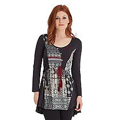 Joe Browns - Multi coloured live the life tunic