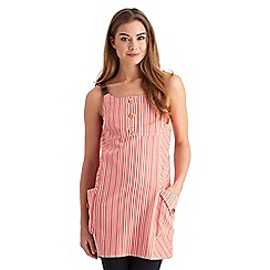 Joe Browns - Red ticking stripe tunic