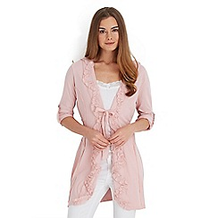 Joe Browns - Pink ruffle me up tunic