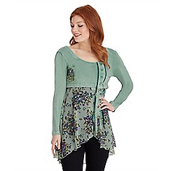 Joe Browns - Green goddess tunic