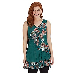 Joe Browns - Multi coloured stand out reversible tunic