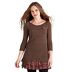 Joe Browns - Chocolate live life tunic