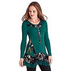 Joe Browns - Green into the country tunic