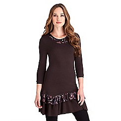 Joe Browns - Chocolate funky funtime tunic