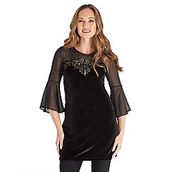Joe Browns - Black little bit different tunic top