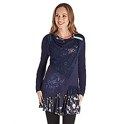 Joe Browns - Multi coloured midnight madness tunic top