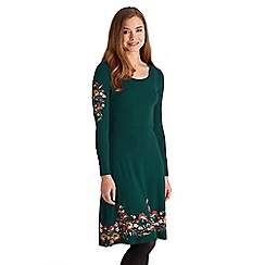 Joe Browns - Bottle green all new signature dress