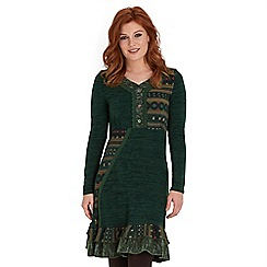 Joe Browns - Green winter warmer dress