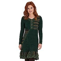 Joe Browns - Green winter warmer dress