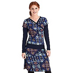 Joe Browns - Multi coloured irresistible drop waist dress