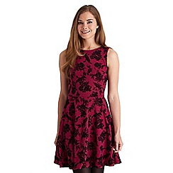 Joe Browns - Dark pink sexy skater dress