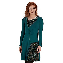 Joe Browns - Dark turquoise remarkable dress