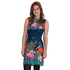 Joe Browns - Multi coloured perfect peacock lace dress