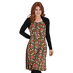 Joe Browns - Multi coloured statement shrug dress