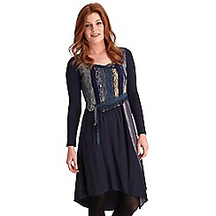 Joe Browns - Dark blue cinderella dress