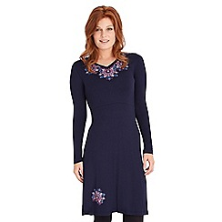 Joe Browns - Navy simple but stylish jersey dress