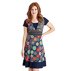Joe Browns - Multi coloured stand out dress