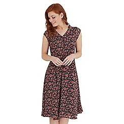 Joe Browns - Multi coloured free flowing floral dress