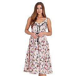 Joe Browns - Pale pink vintage scooter dress