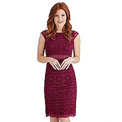 Joe Browns - Purple luscious lace dress