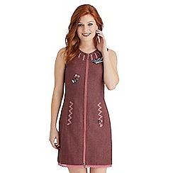 Joe Browns - Pink quietly quirky zip through dress