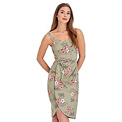 Joe Browns - Pale green patina bloom dress