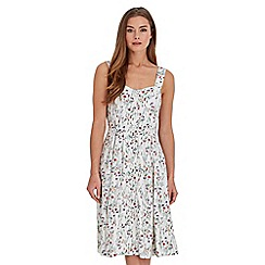 Joe Browns - White flower garden dress