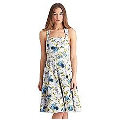 Joe Browns - Lilac pastel floral vintage dress
