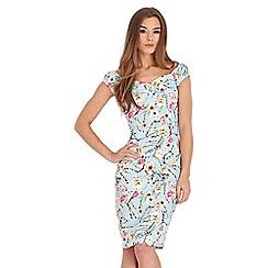 Joe Browns - Multi coloured flattering fabulous floral dress