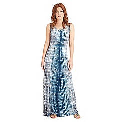 Joe Browns - Blue tie-dye maxi dress