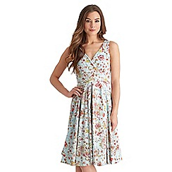 Joe Browns - Multi coloured lake como dress
