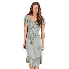 Joe Browns - Pale green effortlessly elegant dress