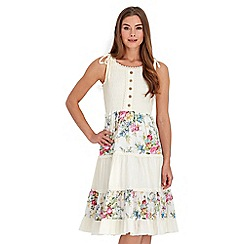 Joe Browns - Cream first blooms dress