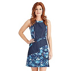 Joe Browns - Dark blue deep ocean dress