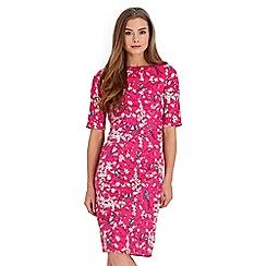 Joe Browns - Bright pink pretty birdy dress