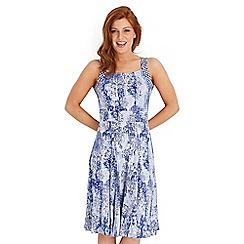 Joe Browns - Blue cool and calming dress