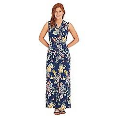 Joe Browns - Multi coloured tropical floral shirt dress