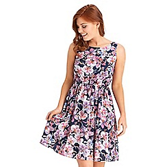 Joe Browns - Multi coloured bold bloom dress