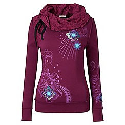 Joe Browns - Purple individual sweat top