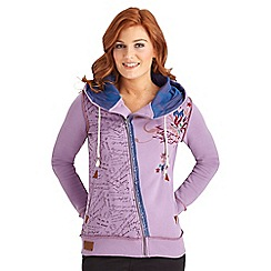 Joe Browns - Lilac individual unique hoody