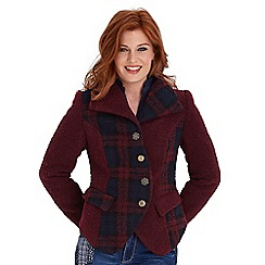 Joe Browns - Dark red remarkable jacket