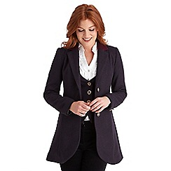 Joe Browns - Plum chic and stylish longline jacket