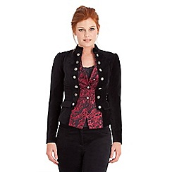 Joe Browns - Black sultry 2 in 1 velvet jacket
