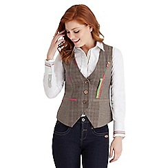 Joe Browns - Multi coloured mad about this waistcoat