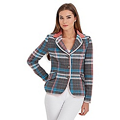 Joe Browns - Multi coloured unique check heritage jacket