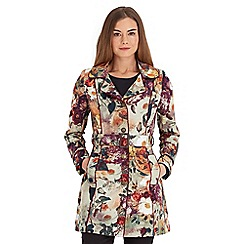 Joe Browns - Multi coloured chic floral mac