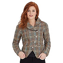 Joe Browns - Multi coloured twist it up tweed jacket