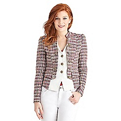 Joe Browns - Multi coloured tweed 2 in 1 jacket